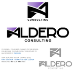 Aldero Consulting Logo - Entry #34