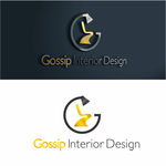 Gossip Interior Design Logo - Entry #92