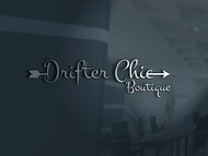 Drifter Chic Boutique Logo - Entry #180