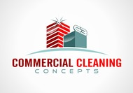Commercial Cleaning Concepts Logo - Entry #82