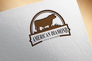 American Diamond Cattle Ranchers Logo - Entry #115