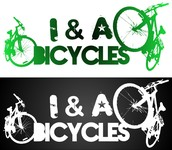 i & a Bicycles Logo - Entry #4