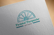 Twisted Turquoise Boutique Logo - Entry #99