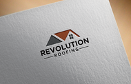Revolution Roofing Logo - Entry #590
