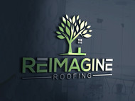 Reimagine Roofing Logo - Entry #147