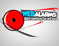 Logo for WebAlarms - Alert services on the web - Entry #108
