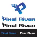 Pixel River Logo - Online Marketing Agency - Entry #30