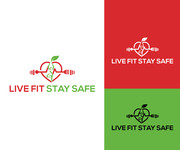Live Fit Stay Safe Logo - Entry #54