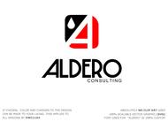 Aldero Consulting Logo - Entry #150