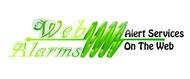 Logo for WebAlarms - Alert services on the web - Entry #68