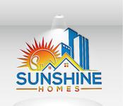 Sunshine Homes Logo - Entry #76