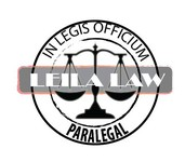Leila Law Logo - Entry #118