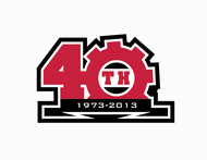 40th  1973  2013  OR  Since 1973  40th   OR  40th anniversary  OR  Est. 1973 Logo - Entry #101