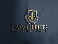Law Offices of David R. Monarch Logo - Entry #229