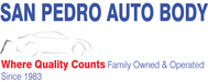 San Pedro Auto Body Logo - Entry #72