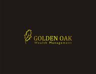 Golden Oak Wealth Management Logo - Entry #207