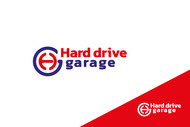 Hard drive garage Logo - Entry #384