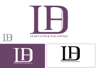 Leah's auto & nail lounge Logo - Entry #209