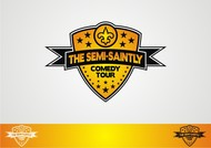 The Semi-Saintly Comedy Tour Logo - Entry #30