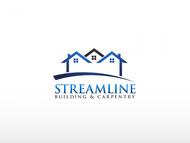 STREAMLINE building & carpentry Logo - Entry #60