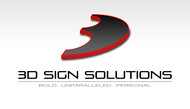 3D Sign Solutions Logo - Entry #181