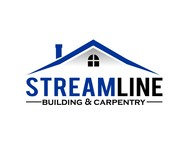 STREAMLINE building & carpentry Logo - Entry #9