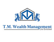 T.M. Wealth Management Logo - Entry #23