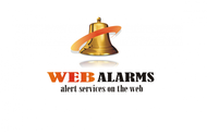 Logo for WebAlarms - Alert services on the web - Entry #36