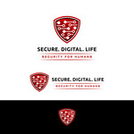 Secure. Digital. Life Logo - Entry #104