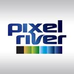 Pixel River Logo - Online Marketing Agency - Entry #201