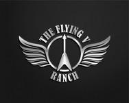 The Flying V Ranch Logo - Entry #51