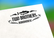 Two Brothers Roadhouse Logo - Entry #13