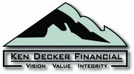 Ken Decker Financial Logo - Entry #3