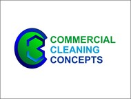 Commercial Cleaning Concepts Logo - Entry #41