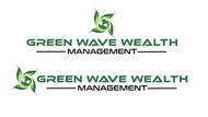 Green Wave Wealth Management Logo - Entry #229