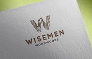 Wisemen Woodworks Logo - Entry #161
