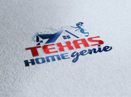 Texas Home Genie Logo - Entry #106