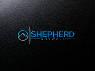 Shepherd Drywall Logo - Entry #334
