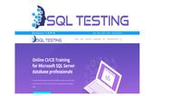 SQL Testing Logo - Entry #408