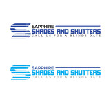 Sapphire Shades and Shutters Logo - Entry #141