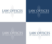 Law Offices of David R. Monarch Logo - Entry #179
