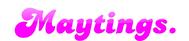 Maytings Logo - Entry #7