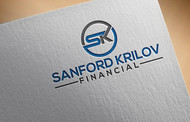 Sanford Krilov Financial       (Sanford is my 1st name & Krilov is my last name) Logo - Entry #325