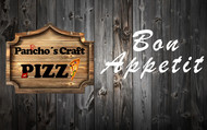 Pancho's Craft Pizza Logo - Entry #143