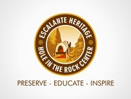 Escalante Heritage/ Hole in the Rock Center Logo - Entry #99