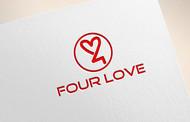 Four love Logo - Entry #156