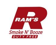Rams Duty Free + Smoke & Booze Logo - Entry #292