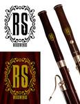 Woodwind repair business logo: R S Woodwinds, llc - Entry #70