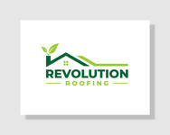 Revolution Roofing Logo - Entry #555