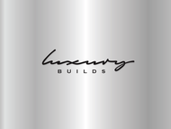 Luxury Builds Logo - Entry #148